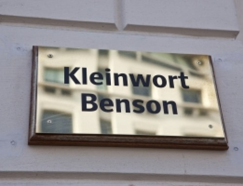 Home warming party for the new offices of Kleinwort Bensin