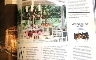 Absolutely Weddings Magazine on Orchid Events